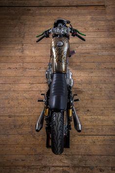 Yamaha Virago XV750 Cafe Racer by Vintage Addiction Crew #motorcycles #caferacer #motos | caferacerpasion.com