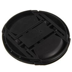osell wholesale dropship 77mm Universal Front Lens Cap Cover with Strap for DSLR Canon $2.15