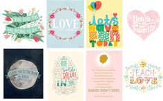 Prints to Inspire (and a giveaway to celebrate 30 weeks!) – The Small Seed