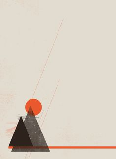 Poster   ABSTRACT LANDSCAPE von Romina Lutz   more posters at http://moreposter.de