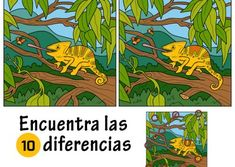 Illustration about Find differences, education game for children (chameleon). Illustration of lizard, character, green - 64330169 Find 10 Differences, Spot The Difference Kids, Hidden Pictures, Preschool Worksheets, Different, Learn English, Games For Kids, Education, Children