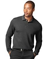 Men's Business Casual Long-Sleeved Polo