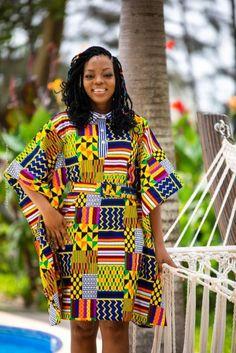 Maxi ruffine new pop Short African Dresses, African Print Dresses, African Wear, African Attire, African Fashion Dresses, African Women, Short Dresses, African American Fashion, Kimono Fashion