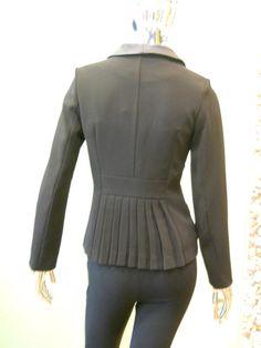 Peplum Blazer (Back)