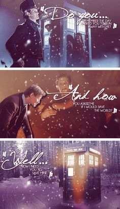 [gifset] Christmas Day, The Fall of the Eleventh #DoctorWho