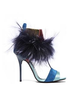 fall 2012, Diego Dolcini, shoes, sandals, blue