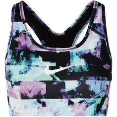 da6d8b4391 Nike Ice Flash Pro Classic printed Dri-FIT stretch sports bra ( 46) ❤ liked  on Polyvore featuring activewear