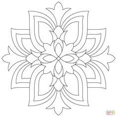 lotus mandala coloring page free printable coloring pages Mandala Art, Design Mandala, Mandalas Drawing, Flower Coloring Pages, Mandala Coloring Pages, Adult Coloring Pages, Coloring Books, Quilting Stencils, Quilting Designs