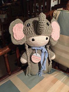 big head baby doll - elephant