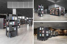 Médiathèque Dokk1, Aarhus, Danemark