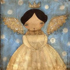 Folk Art Angel.