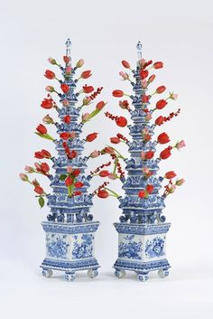 Pottery & Glass Porceleyne Fles Delft Tile Veere Cool In Summer And Warm In Winter Art Pottery