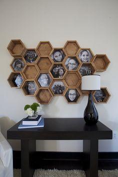 Love this photo frame idea!
