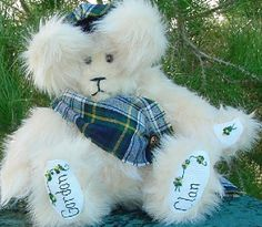 Gordon Clan Bear by Author Terry Spears