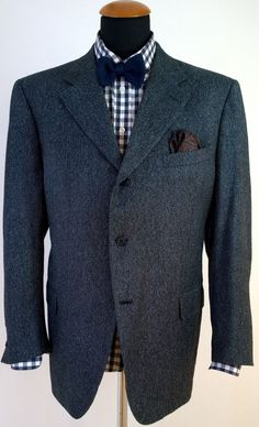 CANALI Suit Jacket Cashmere Silk Wool Blazer Size 46S 56S Gray Coat 3 Buttons | eBay