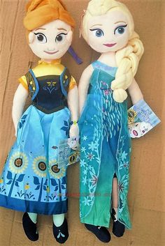 Lalka pluszowa Elsa Anna kraina lodu lalka frozen fever 50cm