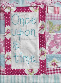 Another block for the fairytale quilt