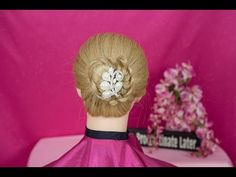 Slip Knot Ponytail Updo - YouTube  Easy to learn Slip Knot Ponytail!❤️