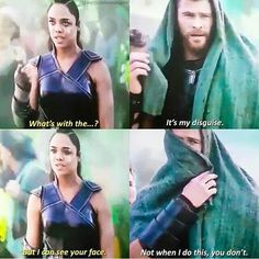 Oh thor you are adorable, lovable #Thor #cosplayclass #marvel #ThorRagnarok