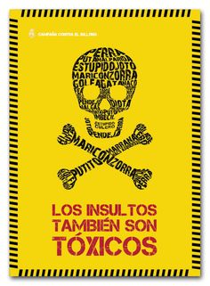 Campaña contra el bullying by Olimpia Herrera, via Behance