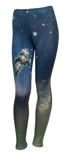 Let 'em know there's a new Captain Tightpants in town in these officially-licensed Firefly leggings.