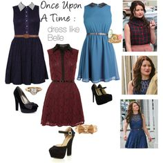 Once Upon a Time: Dress like Belle by haley-williams on Polyvore