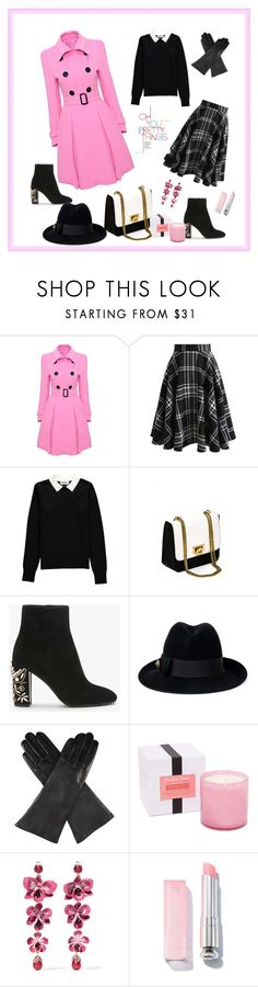 """Untitled #46"" by femina-mode ❤ liked on Polyvore featuring WithChic, Chicwish, Essentiel, Gucci, Dents, LAFCO and Etro"