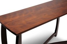 Straitwoode Cherry and Dark Brown Modern Sofa Table