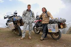 This pair are famous for travelling across the globe by motorbike. During two captivating series', The Long Way Round and The Long Way Down, Ewan & Charley document their travels & experiences, raise money for charities and provide endless inspiration. Need we say more?