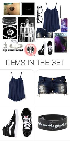 """""""Castiel my guardian angel"""" by xx-catching-dreams-xx ❤ liked on Polyvore featuring art"""