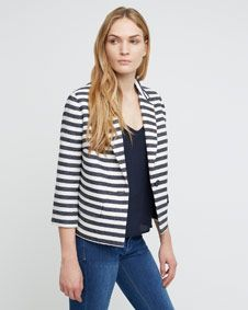 stripe-casual-jacket
