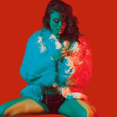 neil krug. Blue and Red.