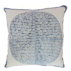 SUNRISE pillow by Block Shop Textiles