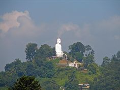 Buddha, watching over the tooth temple in Kandy