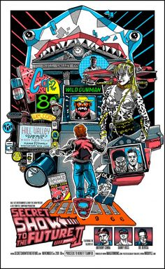 Back to the Future Part II by Tim Doyle