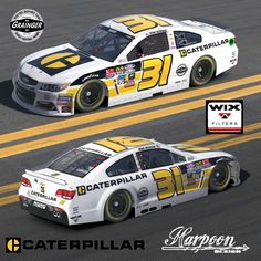 """This Labor Day Weekend, """"Tradition Returns"""" to Darlington Raceway for the second consecutive year, as the track hosts its popular throwback campaign. The No. 31 Caterpillar Darlington Chevrolet SS, piloted by Ryan Newman, will pay tribute to Richard Childress Racing's first NASCAR Sprint Cup Series win with a similar paint scheme that Rudd drove at Riverside."""