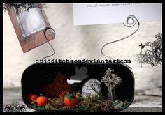 graveyard card holder by quidditchmom