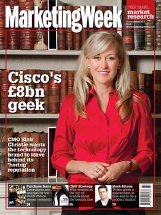 Cisco's CMO front cover
