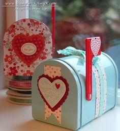 Cute Valentine's mailboxes {Target Dollar Spot} SU!