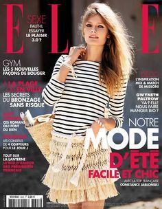 Constance Jablonski by Cedric Buchet for Elle France June 5th, 2015