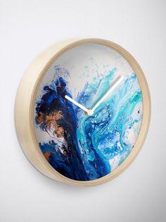 """Sorcery"" Clock by Eibonart Framed Prints, Canvas Prints, Art Prints, Iphone Wallet, Iphone Cases, Quartz Clock Mechanism, Free Stickers, Modern Prints, Transparent Stickers"