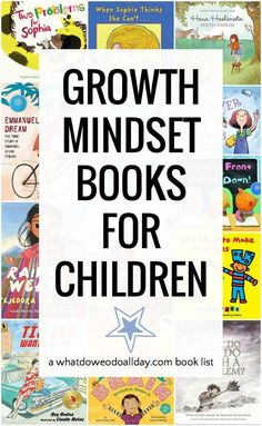 Growth mindset books for kids. Picture books to teach about growth mindset and the benefits of breaking free of a fixed mindset. Great books for classroom teaching or at home learning. Growth Mindset Book, Growth Mindset For Kids, Growth Mindset Activities, Map Activities, Sequencing Activities, Teaching Children Quotes, Quotes For Kids, Teaching Kids, Teaching Respect