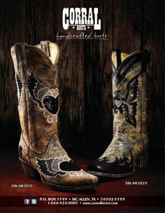 Corral Boots ❤