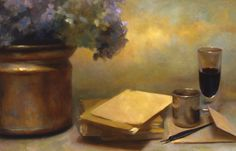 Juliette Aristides: Additional Art from Feature Article - Artist's Network Juliette Aristides, Feature Article, Learn To Draw, Painting Inspiration, Still Life, Original Artwork, Contemporary, Drawings, Twilight