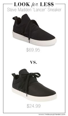 Look for Less: Steve Madden 'Lancer' Sneaker