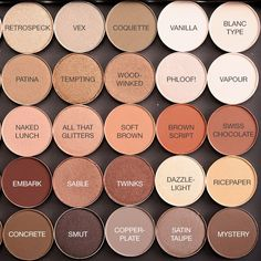 MAC Neutral Eyeshadows