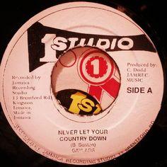 Never Let your country down.  #reggae #jamaica #45rpm #dub #reggaelabelart #gaylads #thegaylads #neverletyourcountrydown #studioone #coxsonedodd #coxsone #jamrecmusic #brentfordroad #kingston #clementdodd #madeinjamaica #kingston #reggaefever #rootsmusic #rootsreggae by albwizz