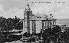 Palais de Justice, Roberval, Lac Saint-Jean. Qué.