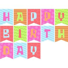 10 Best Happy Birthday Printable Banners Signs