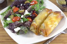 Greek Style Egg Roll